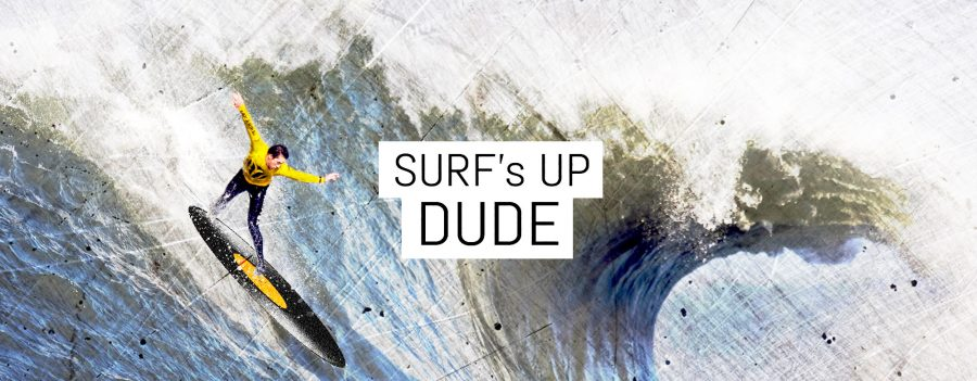 Surf's Up Dude