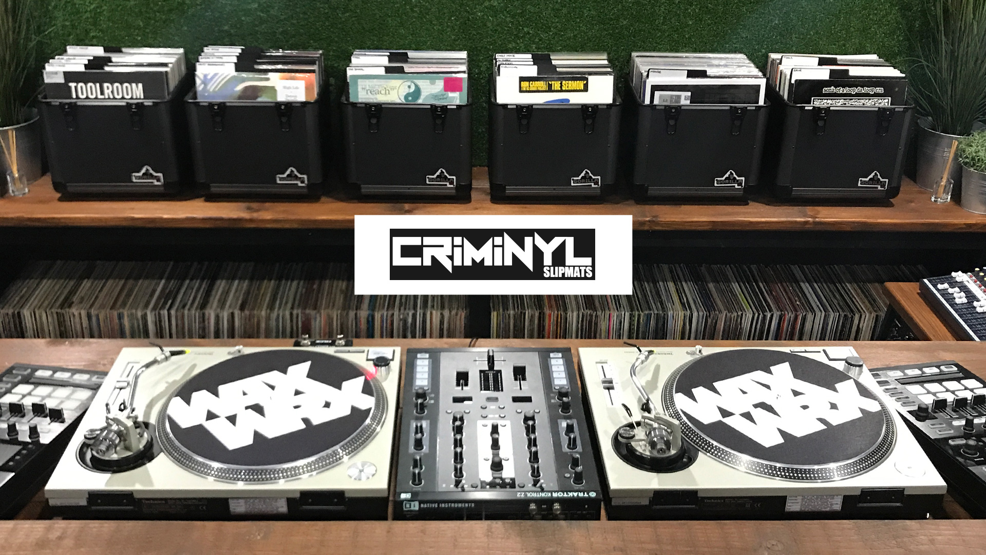Introducing Criminyl Slipmats